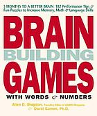 Brain building games with words & numbers (mostly)