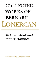 Verbum: word and idea in Aquinas