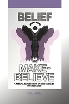 Belief and make-believe : critical reflections on the sources of credulity
