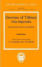 Otia imperialia : recreation for an emperor
