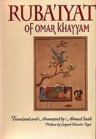The original Rubaiyyat of Omar Khayaam : a new translation with critical commentaries / by Robert Graves and Omar Ali-Shah