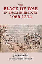 The place of war in English history, 1066-1214