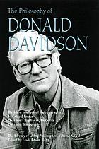 The philosophy of Donald Davidson