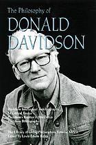 The philosophy of Donald Davidson