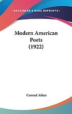 Modern American poets