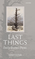 Last things : Emily Brontë's poems