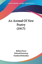 An Annual of new poetry, 1917