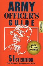 Army officers guide