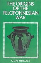 The origins of the Peloponnesian War