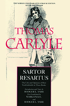 Sartor resartus the life and opinions of Herr Teufelsdrockh