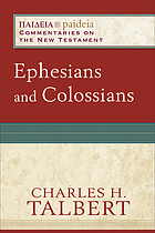 Ephesians and Colossians
