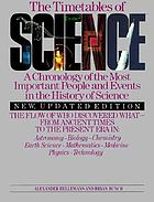 The timetables of science : a chronology of the most important people and events in the history of science