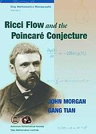 Ricci flow and the Poincaré conjecture