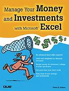 Manage your money and investments with Excel