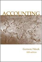 Accounting : an international perspective