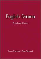English drama : a cultural history