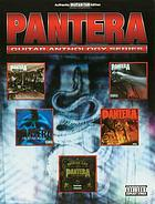 Pantera : [authentic guitar-tab edition, includes complete solos] : for 1 stemme og 1-3 guitarer med becifring