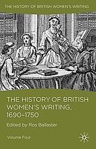 The history of British women's writing