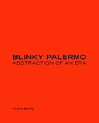 Blinky Palermo : abstraction of an era