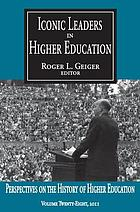 Iconic leaders in higher education