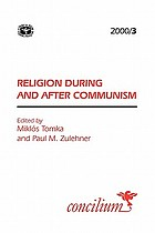 Religion during and after communism