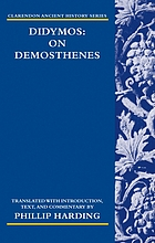 Didymos on Demosthenes