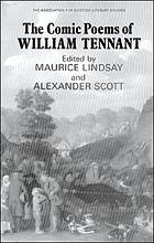 The comic poems of William Tennant