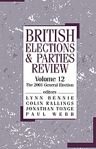 The 2001 general election