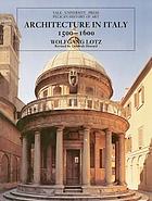 Architecture in Italy, 1500-1600