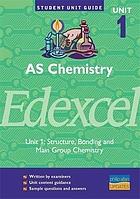 AS chemistry, unit 1, Edexcel