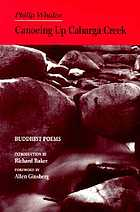 Canoeing up Cabarga Creek : Buddhist poems, 1955-1986