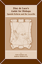 Díaz de Luco's Guide for bishops : Spanish reform and the Lazarillo