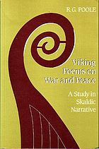 Viking poems on war and peace : a study in skaldic narrative Viking poems on war and peace : a study in skaldic narrative