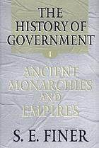 The history of government from the earliest times