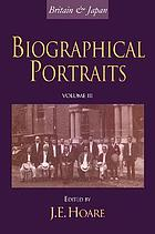 Britain & Japan : biographical portraits