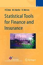Statistical tools in finance and insurance