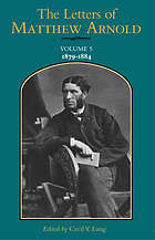 The letters of Matthew Arnold