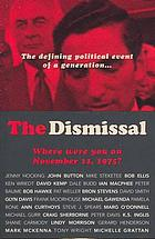 The dismissal : where were you on November 11, 1975?