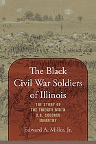 The black Civil War soldiers of Illinois : the story of the Twenty-Ninth US Colored Infantry