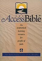 The access Bible : New Revised Standard Version, with the Apocryphal/Deuterocanonical books
