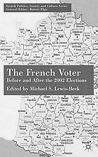 The French voter : before and after the 2002 elections