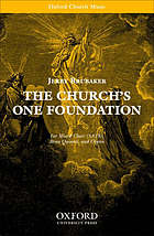 The church's one foundation : for mixed choir (SATB), brass quintet and organ
