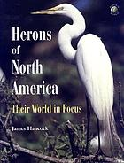 Herons of North America : their world in focus