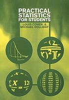 Practical statistics for students : an introductory text