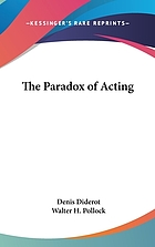 The paradox of acting