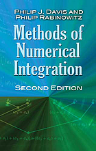 Methods of numerical integration