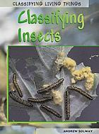 Classifying insects