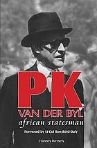 PK van der Byl : African statesman