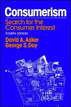 Consumerism: search for the consumer interest