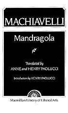 Mandragola; [comedy]